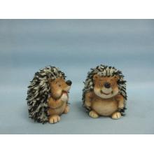 Hedgehog forma de artesanía de cerámica (LOE2530-C7)