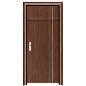 Puerta interior del MDF de madera PVC cristal