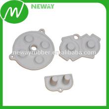 Professionelles Design Top Hebel Leitfähiger Gummi Button