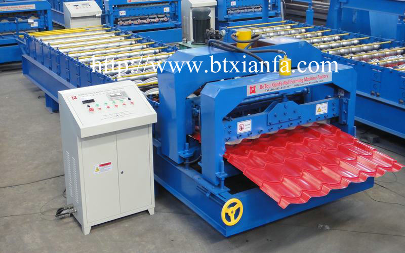 glazed tile roll forming machine (2)