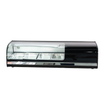 Single-temperature and Refrigerant cake display showcase