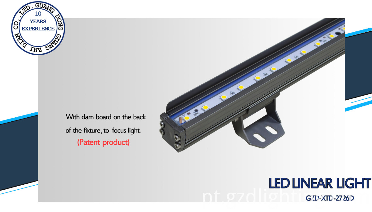 aluminum led rigid bar light