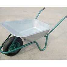 Carrinho de mão / carrinho de mão de roda galvanizado (WB6414R)