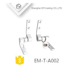 EM-T-A002 Chromed polishing toilet seating hinge sanitary ware