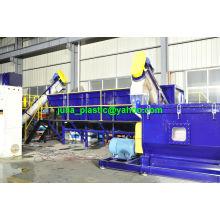 Ligne de lavage de recyclage de film d'agriculture de déchets