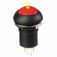 Lange Lebensdauer Aus Ein LED-Drucktastenschalter
