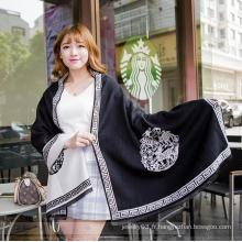 Couverture en laine confortable en 2016 femme écharpe femme femme