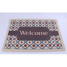 Vente en gros de tapis de porte antidérapant moderne imprimé