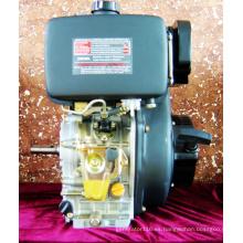 Motores diésel de 12 CV, cilindro único refrigerado por aire