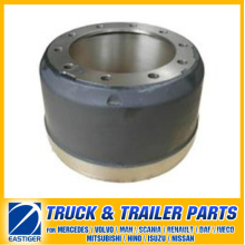 Remolque Partes de piezas de freno Tambor de freno 21021114 para Ror