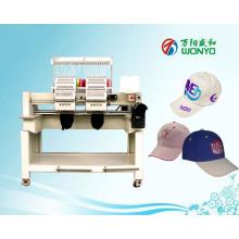 A máquina automatizada cabeça do bordado de Wonyo 2 para o tampão / chapéu / t-shirt / logotipo / liso / vestuário bordado