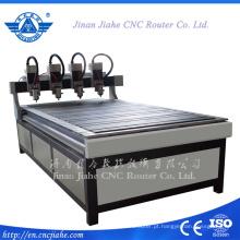Multihead madeira móveis uso escultura Router Cnc máquina de qualidade superior de 1200 * 2400mm China CNC Router de madeira
