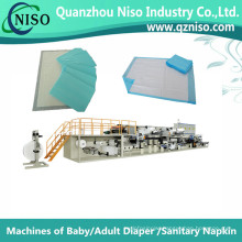 Highly Efficient Under Pad Production Machine with Servo Control (CD150-HSV)