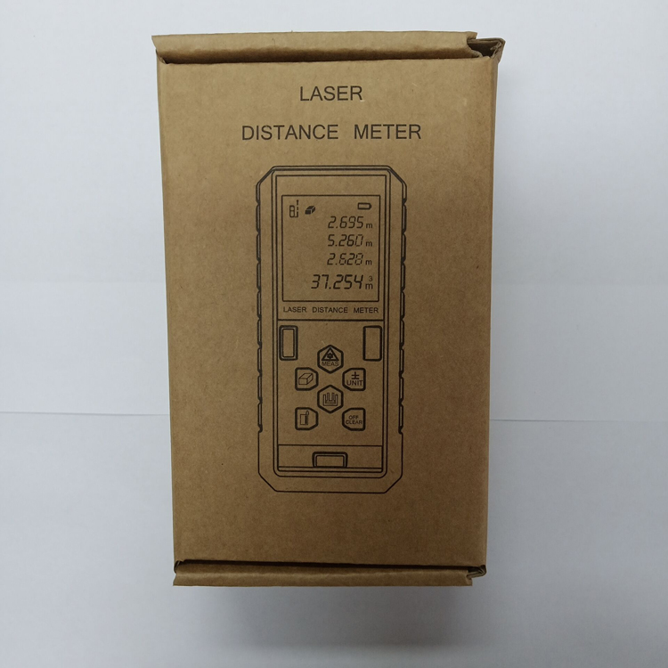How to package the 100m laser measure tool