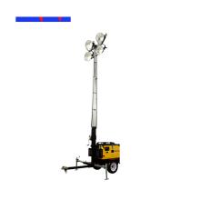 Torre de luz de haleto metálico 4X1000W Torre de luz de fluxo