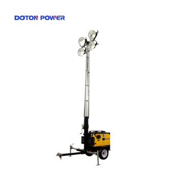 4X1000W Metal Halide Light TowerFlood Light Tower
