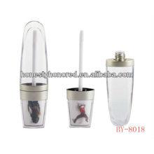 Tubo de brilho labial vazio, com aplicador de esponja