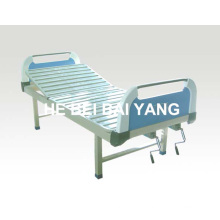 a-114 Double-Function Manual Hospital Bed