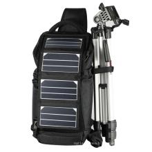 Sac de caméra solaire ECEEN avec 6.5watts Chargeur solaire Sunpower pour appareil 5V chargé