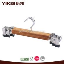 Cabides de saia de bambu
