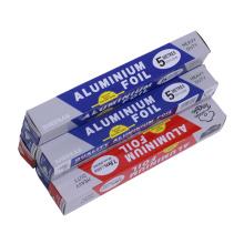 Papel de folha de alumínio de qualidade alimentar para alimentos