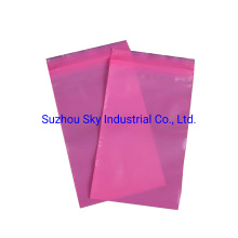 Antistatic Pink PE Bags for PAC