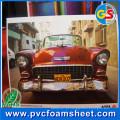 Impressão da placa da espuma do PVC / folha UV de PVC Sintra da impressão / imprimindo a placa plástica