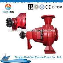 High quality electrical fire water pump, china manufacturer marine fire pump