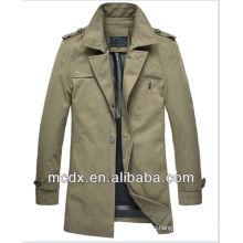 2016 Hot sale slim men's trench coat