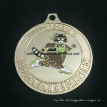 Individuelles Design-Goldmedaille Sport treffen-Medaille