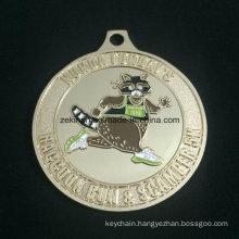 Custom Design Gold Medal Sports Meeting Medal