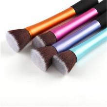 5PCS металлической трубки синтетических волос новый стиль плоской кисти Кабуки