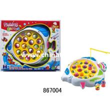 El Popular Plastic Toys B / O Juego de pesca con música (867004)