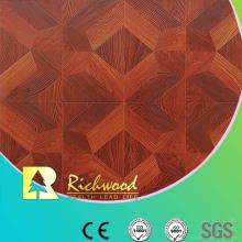 Plancher stratifié insonorisant de chêne de relief commercial de 12.3mm E0 AC4