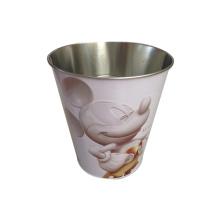 Bucket Shaped Tin Box for Promotion Bucket Tin