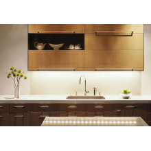Modern Style Kitchen Cabinet With High Glossy MDF, Acrylic Panel