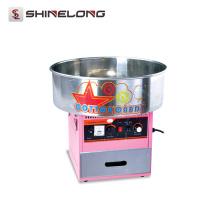 Tomada de fábrica nova máquina de doces de algodão de fibra automática elétrica multi-função comercial