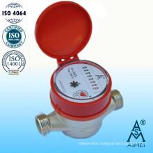 Single Jet Dry Type Brass Body Hot Water Meter