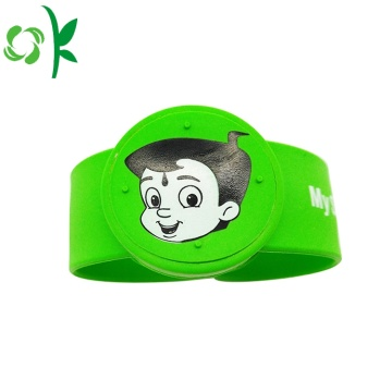 Hight-qualitiy Cartoon Custom Silicone Wristbands Mosquito