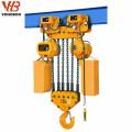Alzamiento de cadena eléctrico de 10 toneladas con la carretilla del monorraíl eléctrico