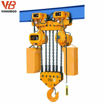 buena calidad G80 polipasto de cadena