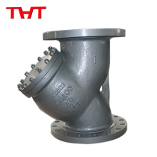 Screwed air Y-Type Strainer Filter/Strainer / Flanged Swing Check Valve