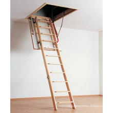 Elegant Wooden Folding Loft Ladder (insulated model)