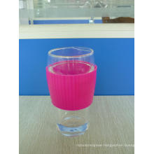 Double Wall Glass Cup with Sleeve Outer