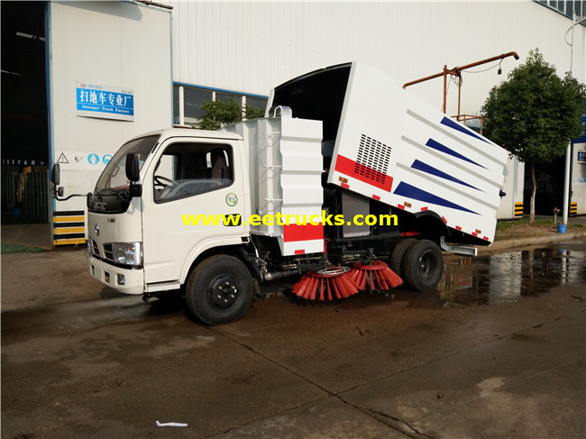 6000 Litres Street Sweeper Vehicles