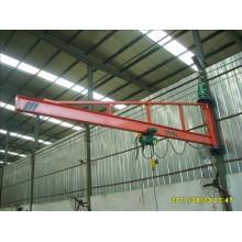 2ton column revolving pillar jib crane