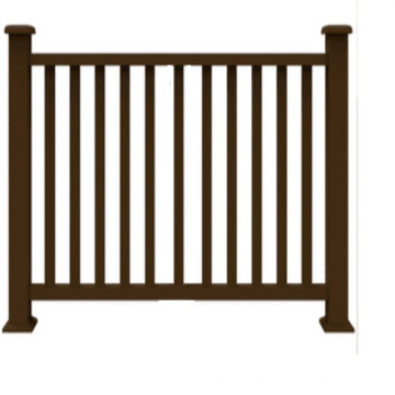 High quality outdoor garden decoration, anti-UV waterproof and easy to install wpc composite fence