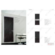 Schwarze Farbe Tür, Karton Tür
