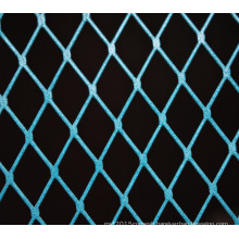 decorative Blue painting Aluminium Window Expanded Metal Mesh Cladding Screen Panels