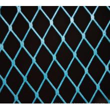 a janela de alumínio da pintura azul decorativa expandiu os painéis da tela do revestimento da malha do metal